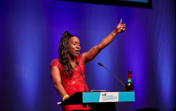 Shakira Martin re-elected as NUS vice president for FE