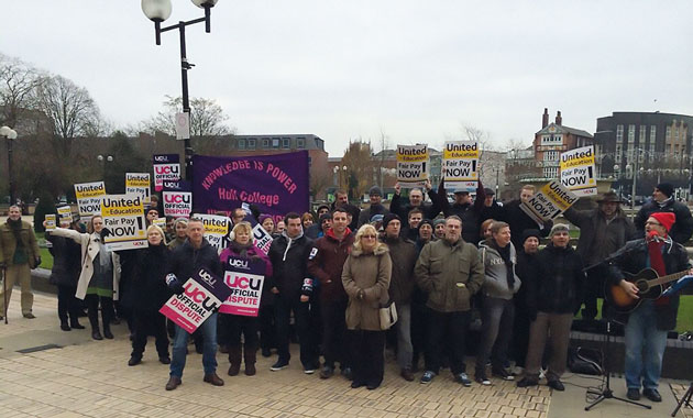 Hull College votes to strike over pay and lesson observation