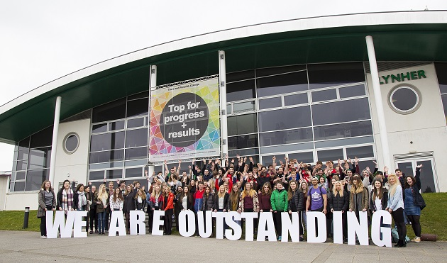 First college outstanding Ofsted rating awarded under CIF