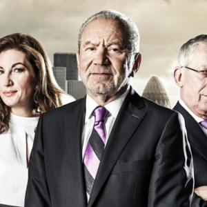 WARNING: Embargoed for publication until: 07/10/2014 - Programme Name: The Apprentice 2014 - TX: n/a - Episode: The Apprentice 2014 - Generics (No. The Apprentice 2014 - Generics) - Picture Shows:  Karren Brady, Lord Sugar, Nick Hewer - (C) Boundless/Jim Marks Photography - Photographer: Jim Marks