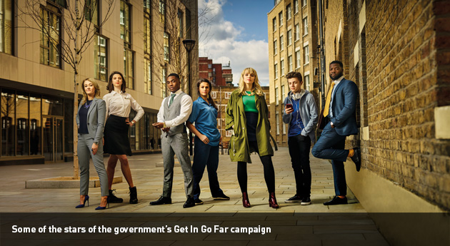 Feature: Apprentice stars front new £13m campaign