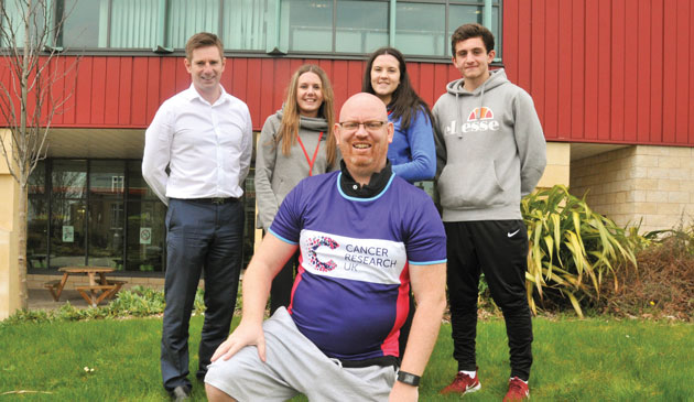 Principal racing for cancer cure