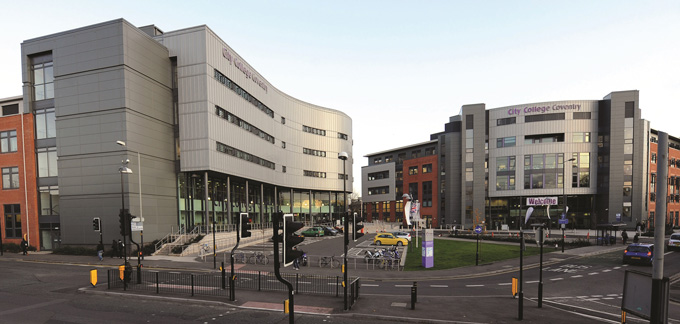 Coventry colleges planning three-way merger before Warwickshire area review closes