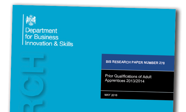 Four in five apprentices studying at a level they already have