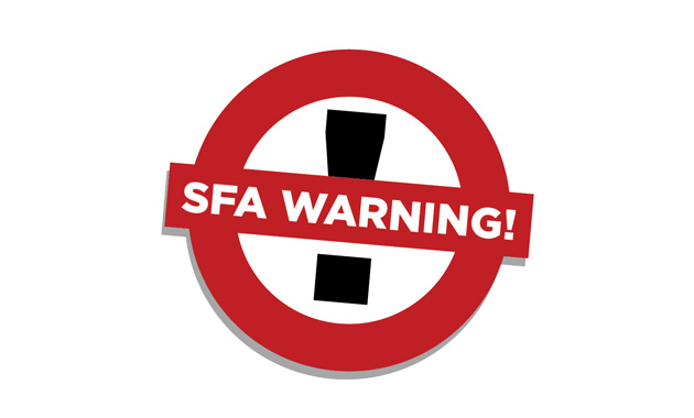 Who has joined the SFA naughty step this month?