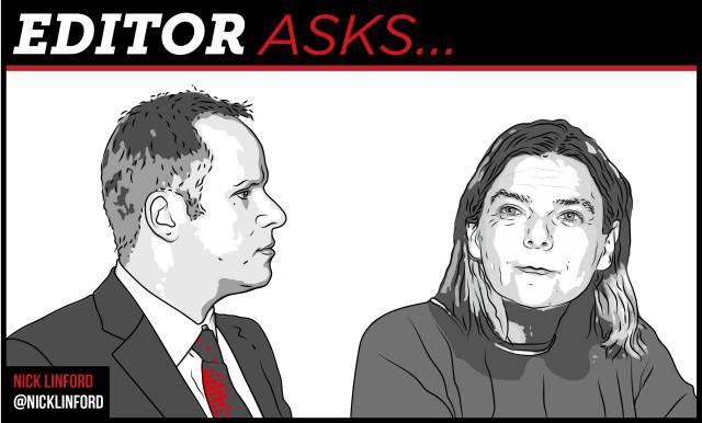 Editor asks Sally hunt