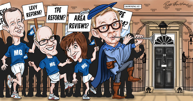 Education ministers back Gove in race to Number 10