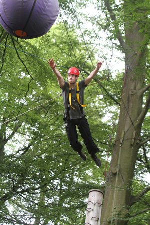 An HMRC Surge and Rapid Response  apprentice takes a leap of faith at the  Brathay challenge