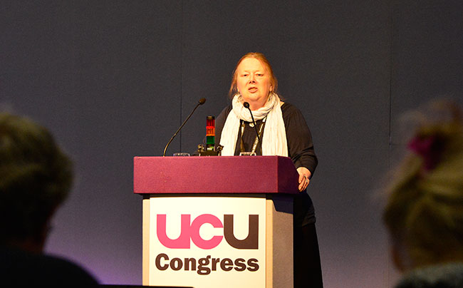 University and College Union president slams political ignorance towards FE at conference