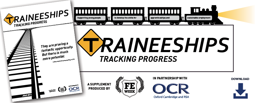 Traineeships - Tracking progress | June 2016: Supplement