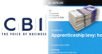 EXCLUSIVE: Delay apprenticeship levy demands CBI