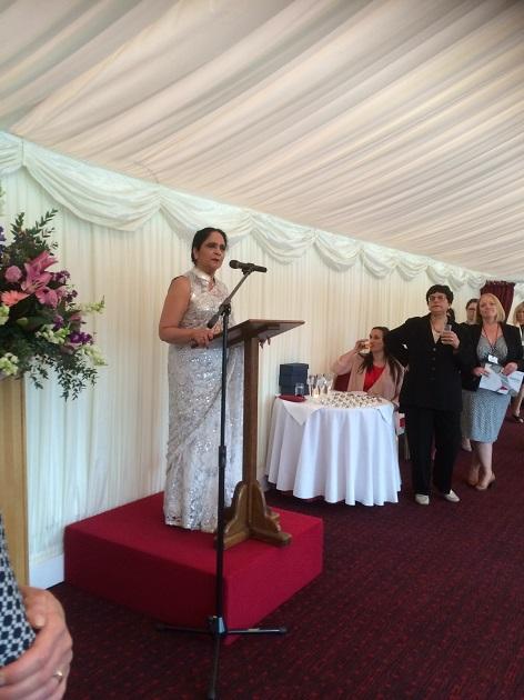 Dame Asha Khemka West Nottinghamshire College principal