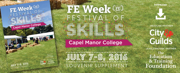 FE Week Festival of Skills 2016  Souvenir supplement