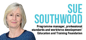 Employers demand credible and recognised staff, says Education and Training Foundation manager