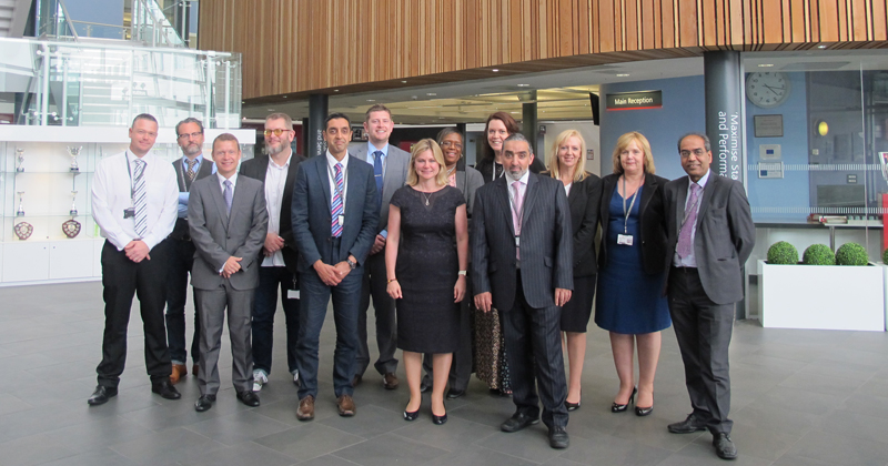 New education secretary chooses 'outstanding' Walsall College for first FE visit