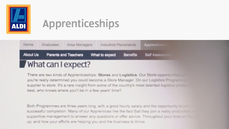 Supermarket ad sparks double standards complaints over maths apprenticeship entry requirement