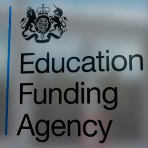 EFA announces no change to 16-18 funding rates