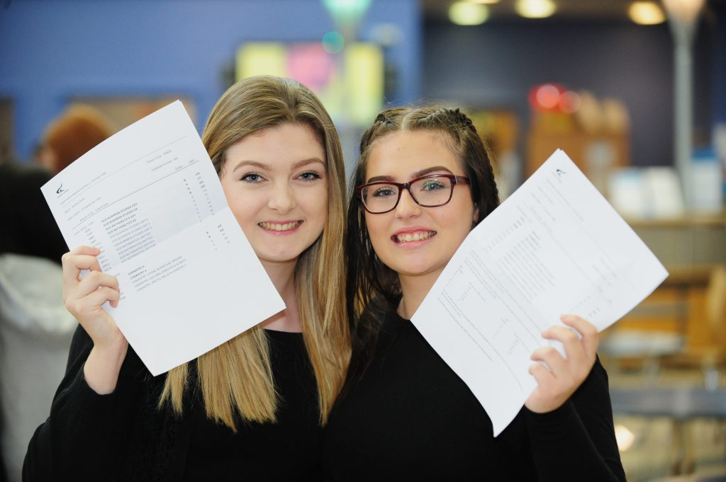 Amelia Carter and Zoe Keaton - Derby College