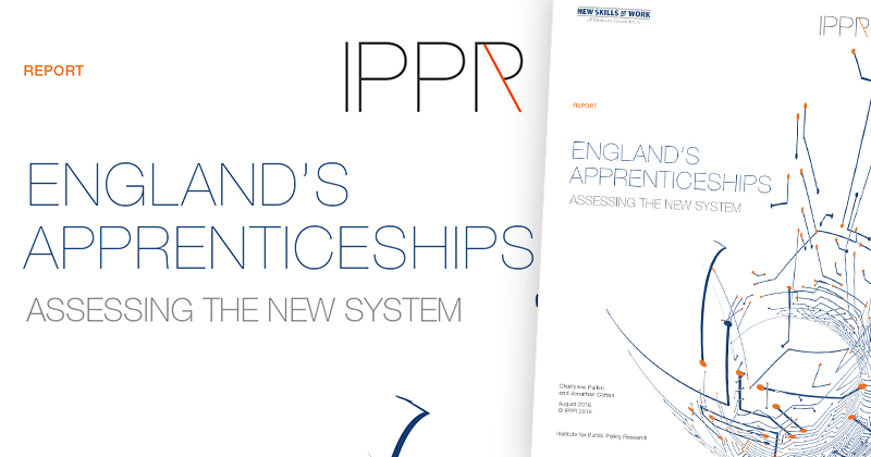 Apprenticeships without qualifications 'harming young people' says IPPR