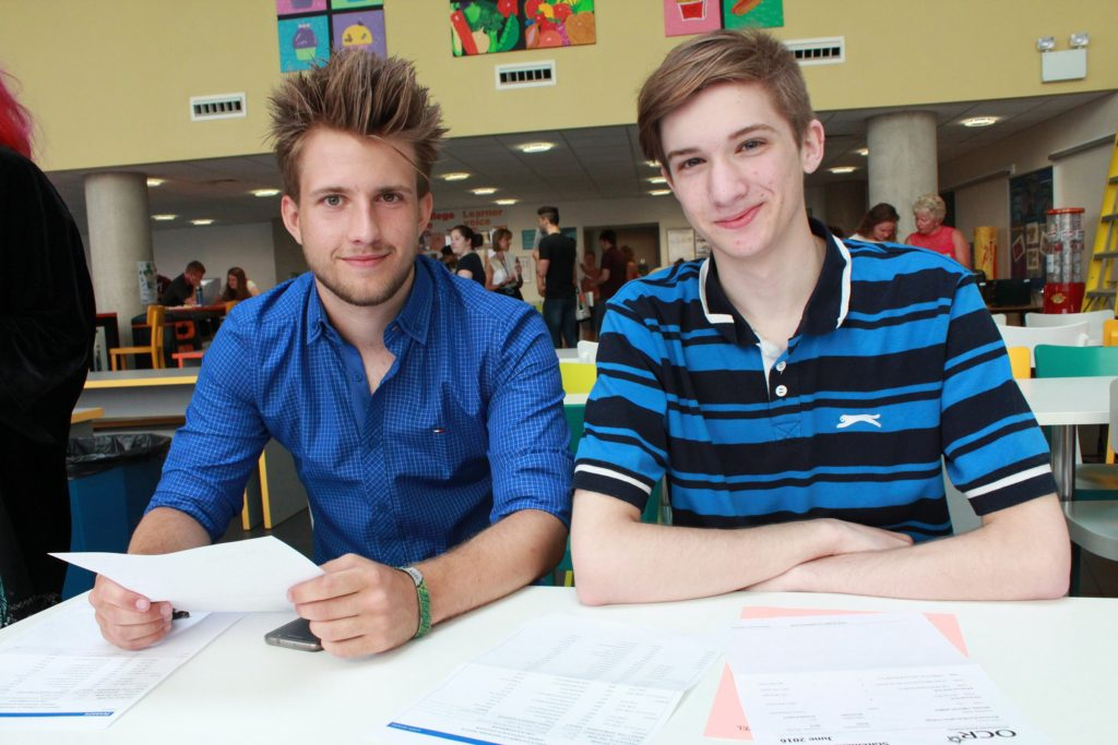 James Gard and Timothy Woods - Bracknell and Wokingham College