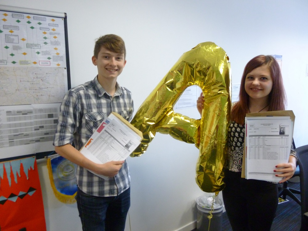 Josh Shaw and Olivia Hulse - City of Stoke on Trent College