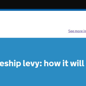 Hotly anticipated apprenticeship levy funding update released