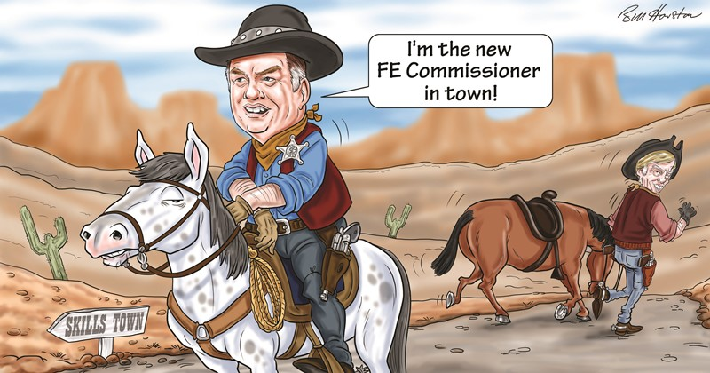 New FE commissioner revealed, and there are two