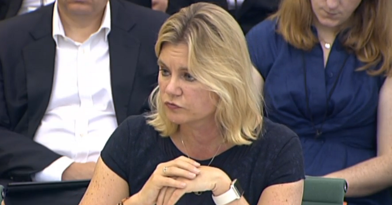 Justine Greening quizzed by select committee on apprenticeship funding cuts