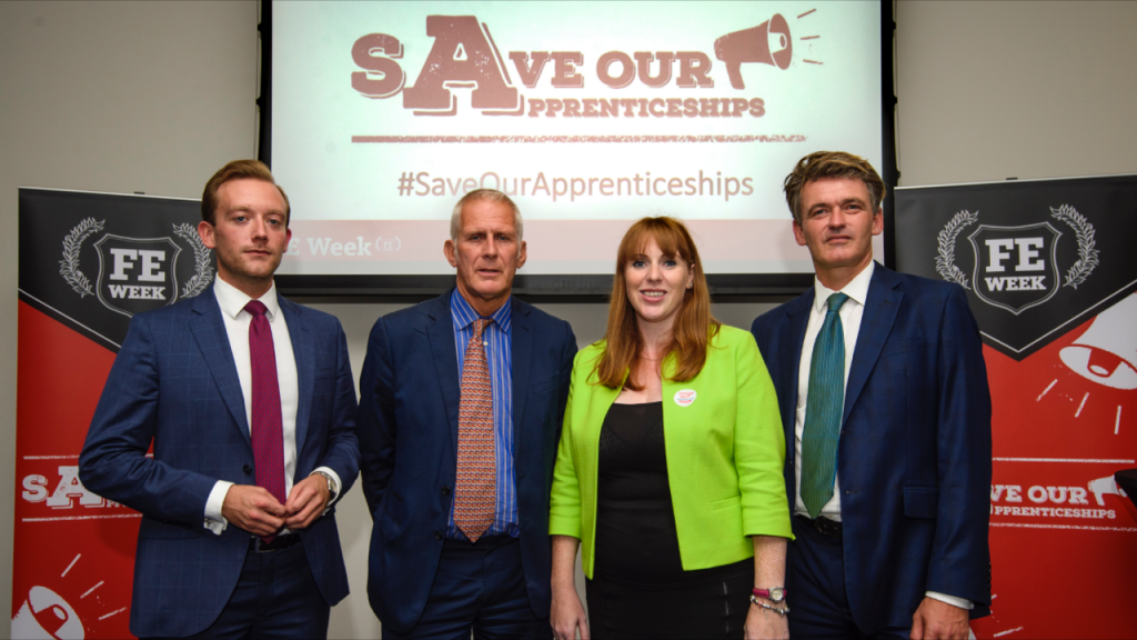 Rayner backs 'important' appenticeships campaign at Labour conference