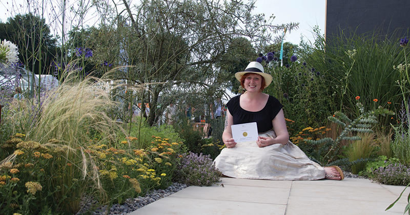 A blooming great achievement for Pershore College student
