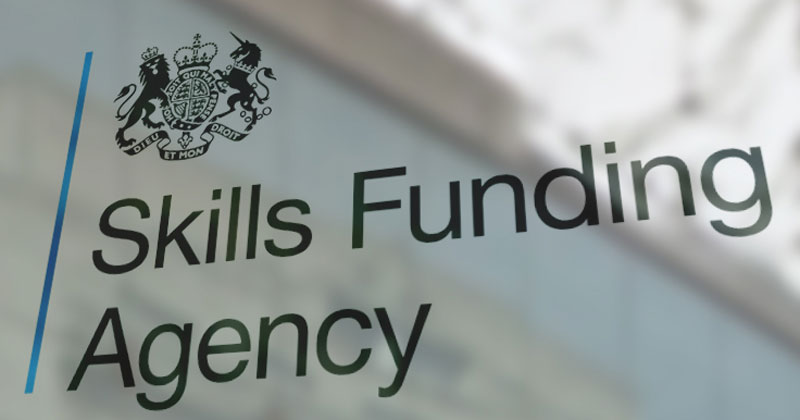 Skills Funding Agency to remain in charge of assessment organisation register