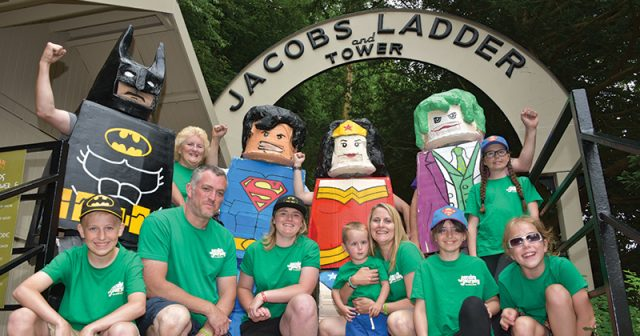 FEATURE: Fundraising superheroes help Jacob with his wish to walk