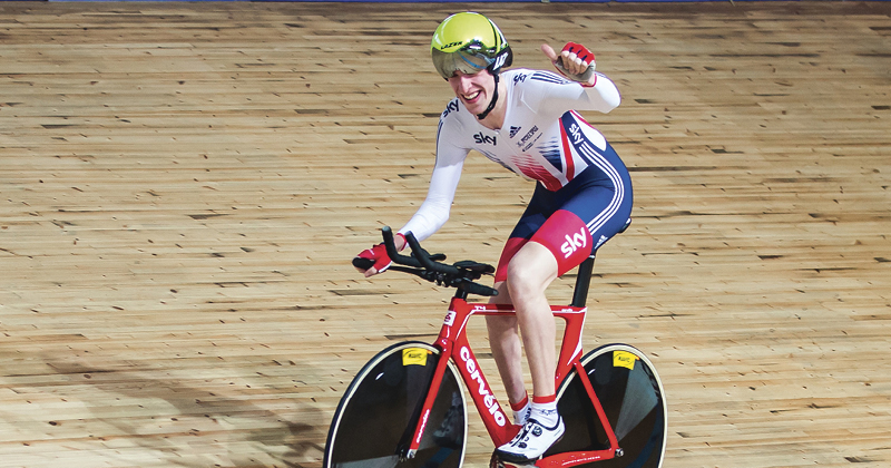 On track for Paralympic glory