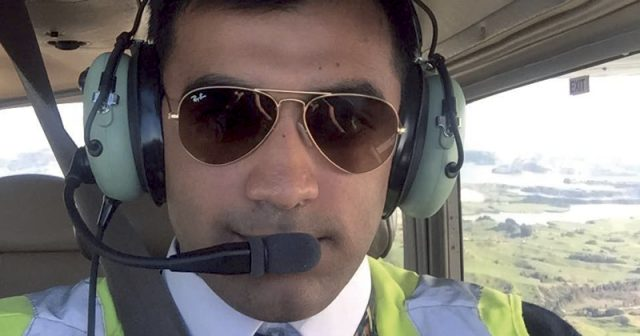 Aspiring pilot is on the flight path to his dream career