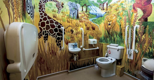 FEATURE: Gobowen station's bog standard toilet gets a loo lease of life