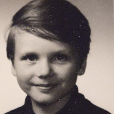 Bill aged seven