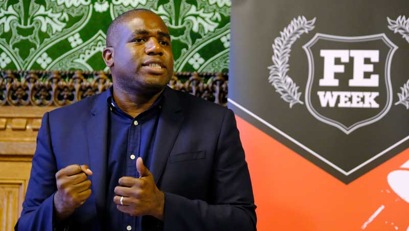 Lammy: Bring back night schools to save adult education