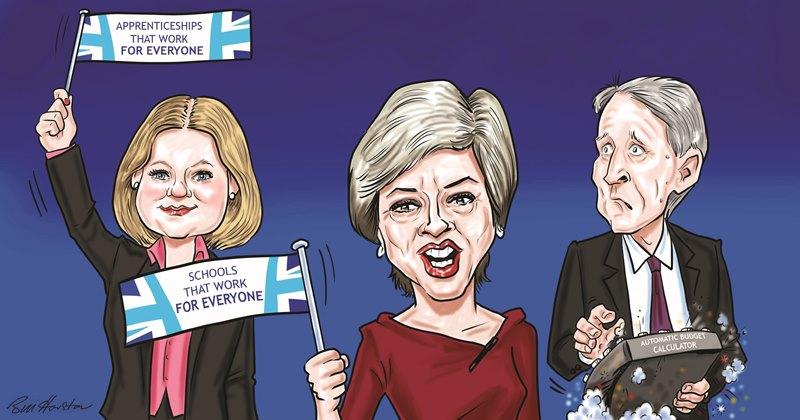 Conservatives talk big on skills agenda ahead of Budget