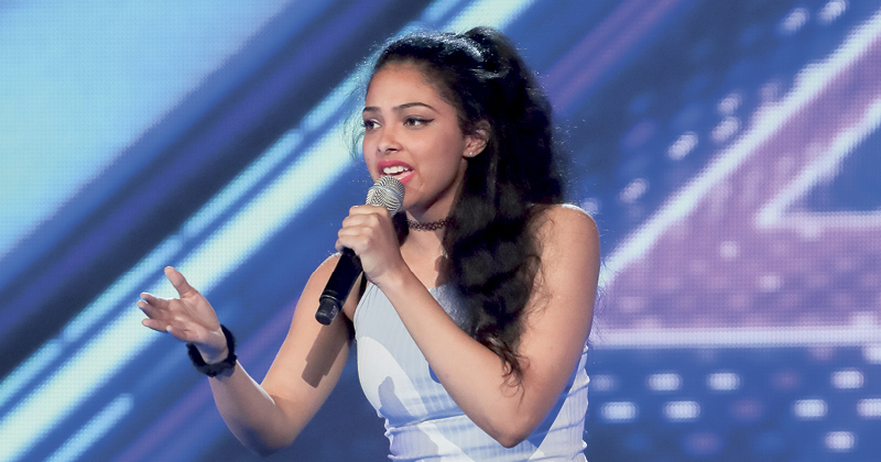 Student Luena Martinez hopes to inspire others through X Factor appearance