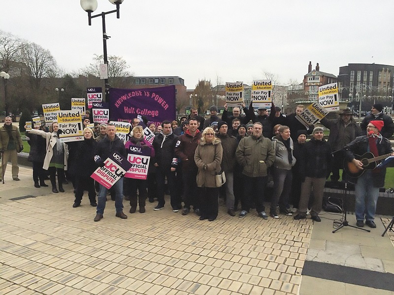 Hull College strike postponed following 'positive talks'