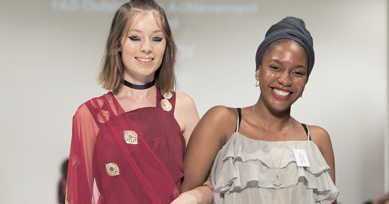 Student showcases her work at London Fashion Week
