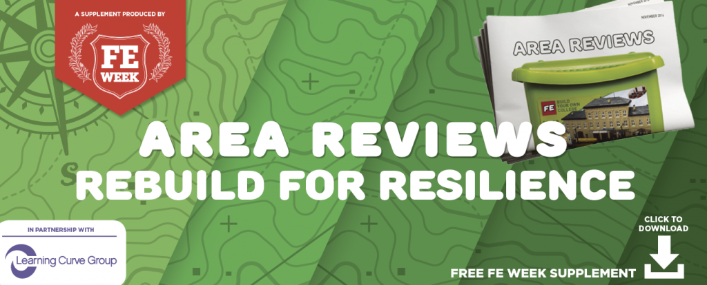 Area Reviews: rebuild for resilience