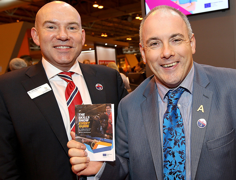 Skills Show is the 'future' of Britain, Halfon says