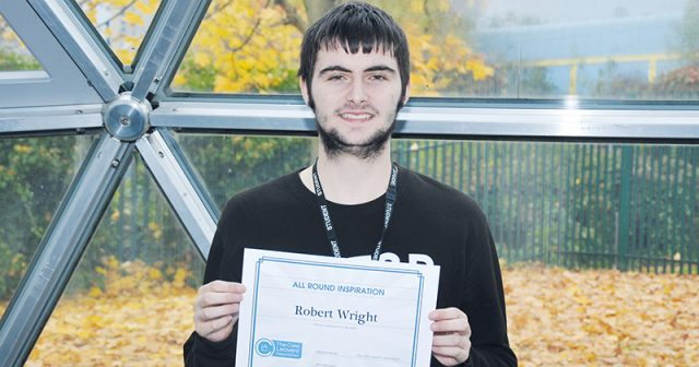 Student crowned 'all-round inspiration' at awards for extensive volunteering work