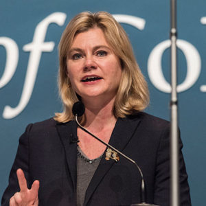 Justine Greening at AoC conference 2016
