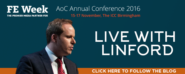 Live with Linford at AoC Conference 2016