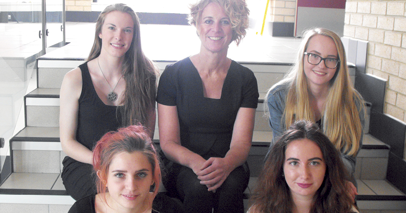 Students get involved with international eco-hairdressing project
