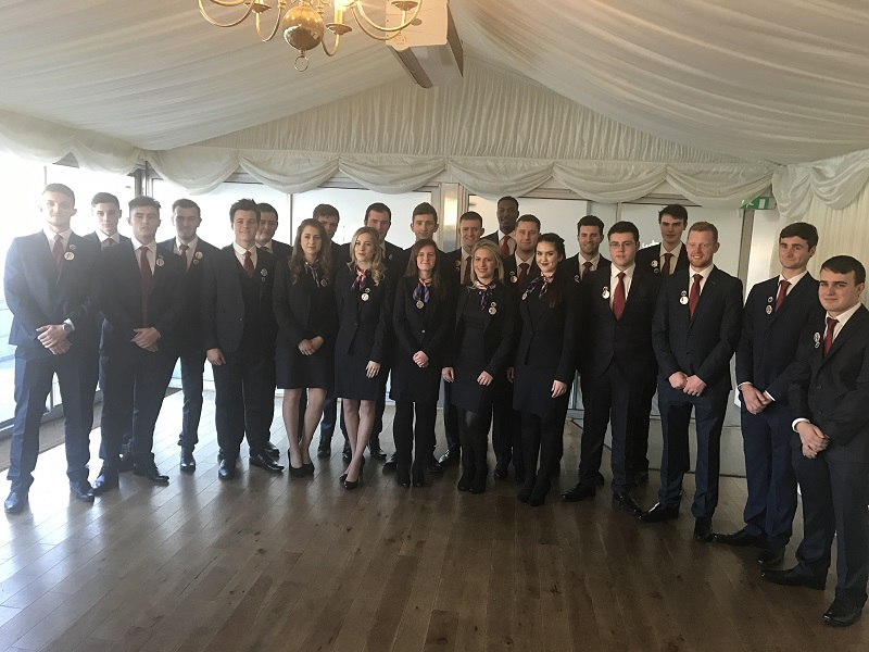 Skills minister bids farewell to Team UK with heartfelt speech