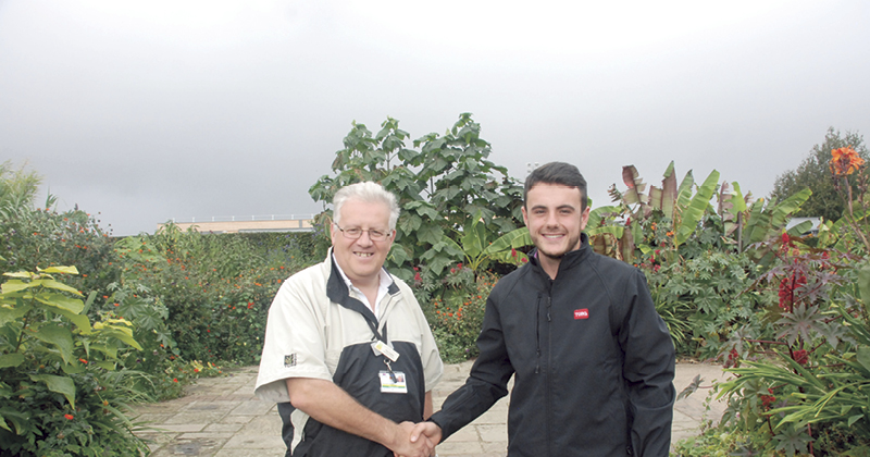 Green with envy as student takes top spot in Greenkeeper of the Year awards