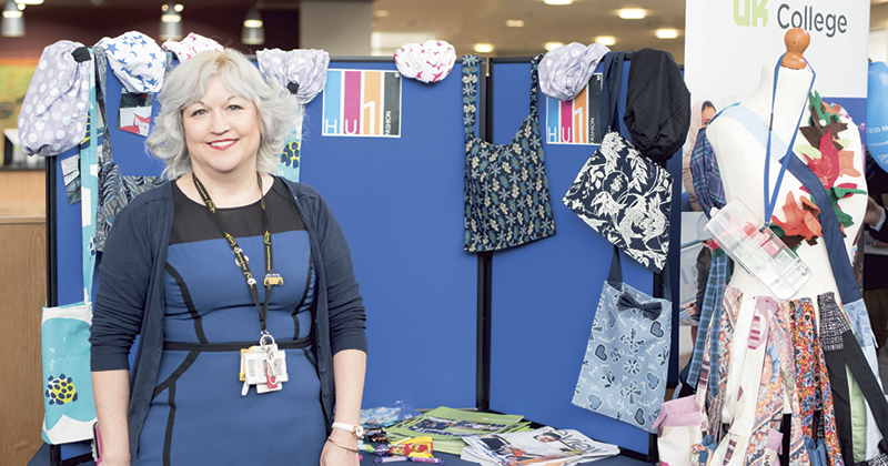 Fashion students craft bags for hospital patients to disguise medication